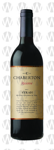 Chaberton Estate Winery Reserve Syrah