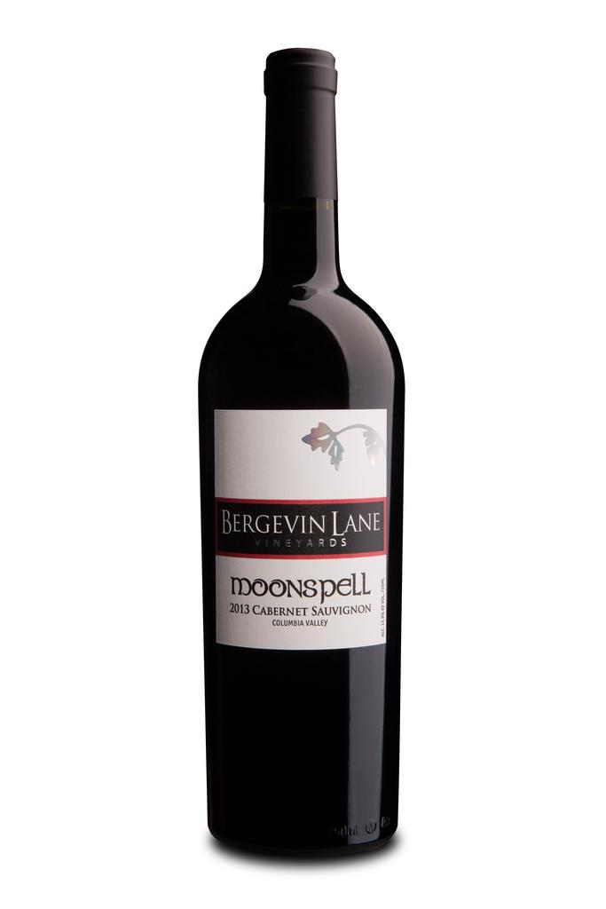 Bergevin Lane Vineyards Moonspell Cabernet Sauvignon Bottle Preview