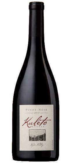 Kuleto Estate PInot Noir Bottle Preview