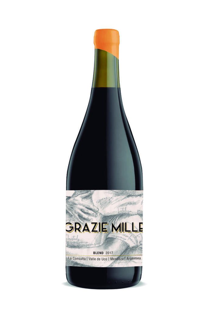 Grazie Mille - Design Wines Linea Design - Blend de diseño (Design Blend) Bottle Preview