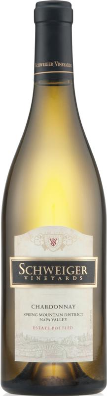 Schweiger Vineyards Chardonnay Bottle Preview