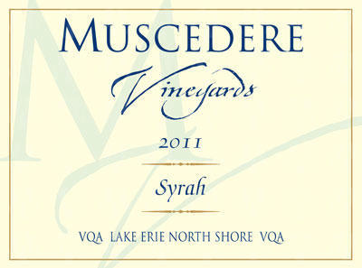 Muscedere Vineyards Syrah