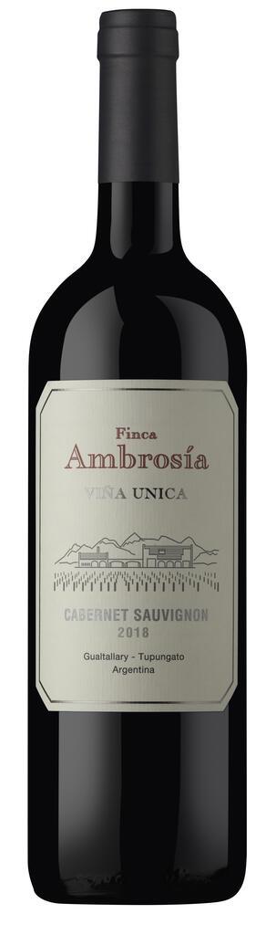 Finca Ambrosia Vina Unica Cabernet Sauvignon Bottle Preview