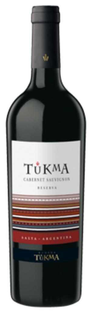 Bodega Tukma Cabernet Sauvignon Reserva Bottle Preview