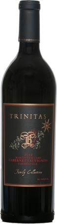 Trinitas Cellars Martin Vineyard,  Cabernet Sauvignon, Family Collection Bottle Preview