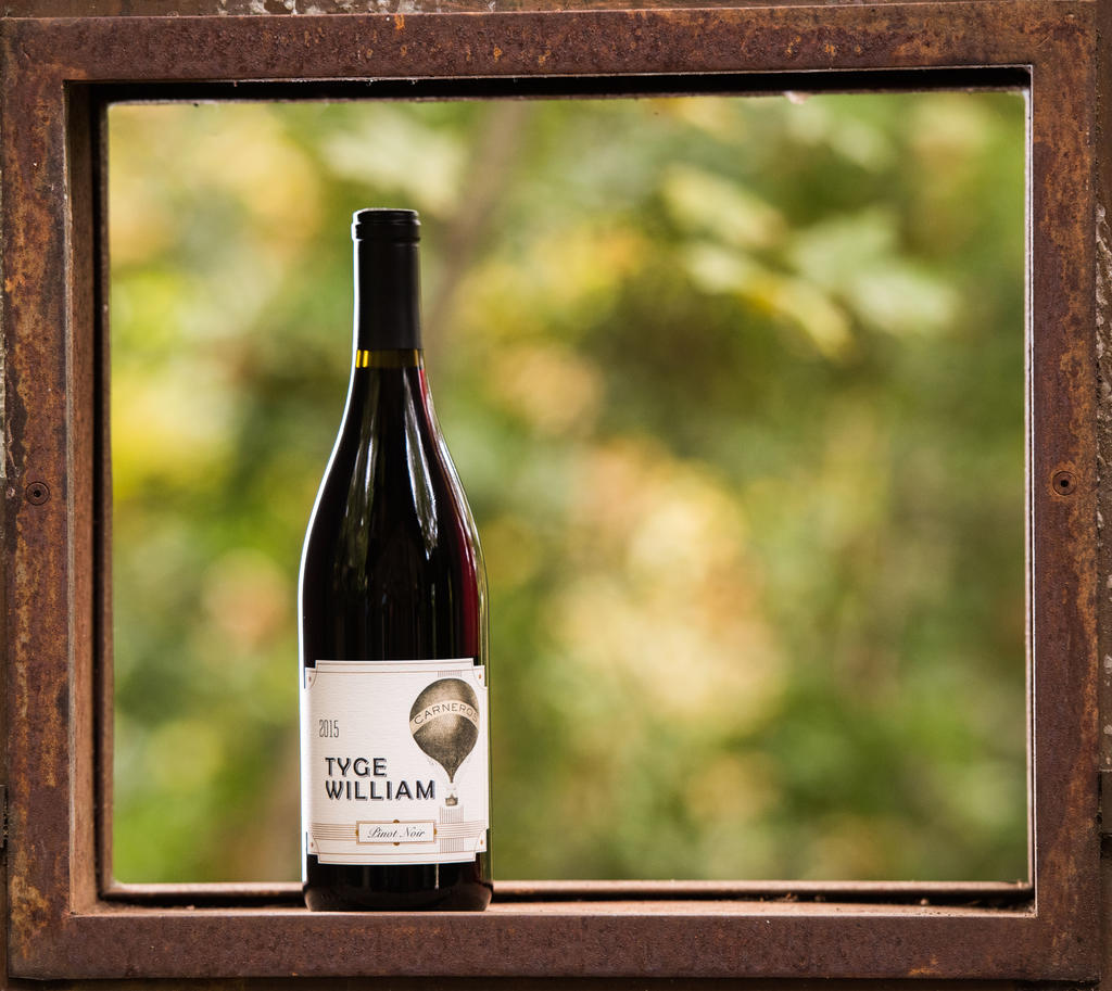 Tyge William Cellars Cornerstone Vineyard Pinot Noir Bottle Preview