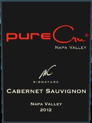 pureCru Wines MC Signature Cabernet Sauvignon Bottle Preview