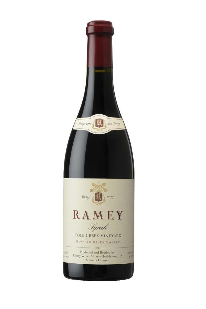 Syrah, Cole Creek Vineyard, Russian River Valley Bottle