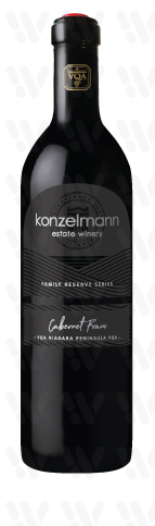 Konzelmann Estate Winery Cabernet Franc Family Reserve
