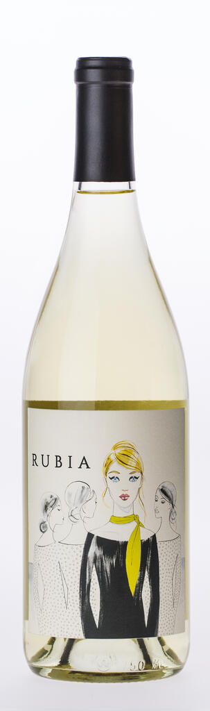 Rubia Wines Rubia Truchard Chardonnay Bottle Preview