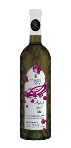 Avondale Sky Winery Select Small Lots Canadian Oak Geisenheim
