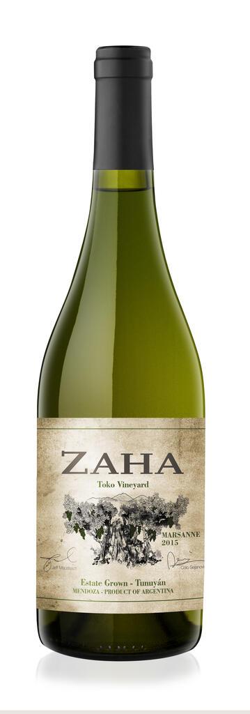 Bodega Teho Zaha Marsanne Bottle Preview