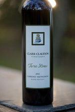 Clark-Claudon Vineyards Three Stones Cabernet Sauvignon Bottle Preview