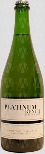 Platinum Bench Estate Winery Sparkling Gamay Noir