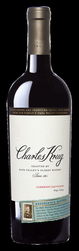 Charles Krug Napa Valley Cabernet Sauvignon Bottle Preview