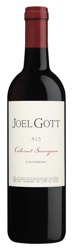 Joel Gott Wines Joel Gott 815 Cabernet Sauvignon Bottle Preview
