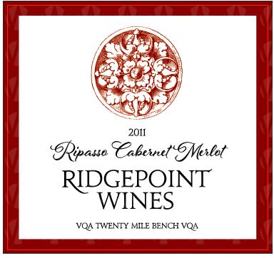 Ridgepoint Wines Ripasso Cabernet Merlot