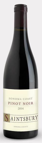 Saintsbury Sonoma Coast Pinot Noir Bottle Preview