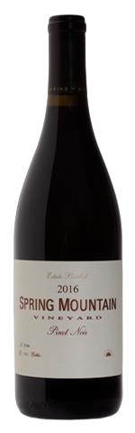 Spring Mountain Vineyard Estate Pinot Noir Bottle Preview