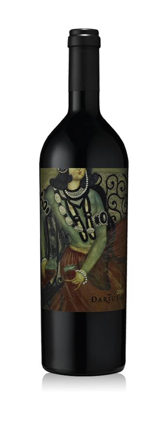 Darioush Winery DARIUS II Bottle Preview