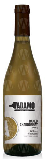 Adamo Estate Winery Willm's Oaked Chardonnay