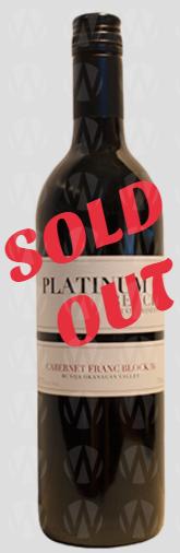 Platinum Bench Estate Winery Cabernet Franc Block 36