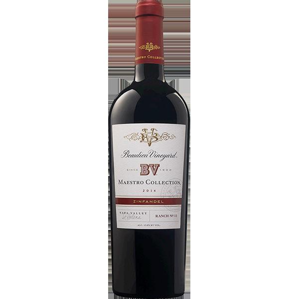 Beaulieu Vineyard BV Maestro Collection Zinfandel Ranch No. 11 Napa Valley Bottle Preview