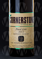 Cornerstone Estate Winery Pinot Gris