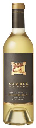 Gamble Family Vineyards Sauvignon Blanc Bottle Preview