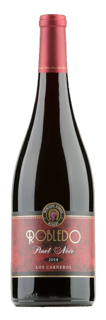 Robledo Family Winery Pinot Noir Bottle Preview