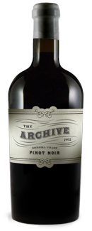 Relic The Archive Pinot Noir Bottle Preview