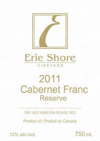 Erie Shore Vineyard Cabernet Franc Reserve