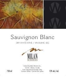 Milan Wineries Sauvignon Blanc