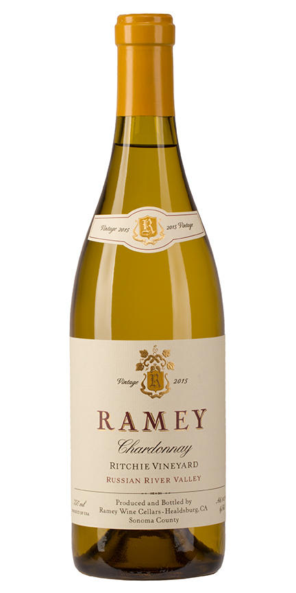 Ramey Wine Cellars Chardonnay, Ritchie Vineyard, Russian River Valley Bottle Preview