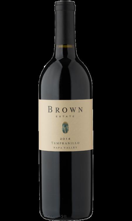 Brown Estate Vineyards Tempranillo Bottle Preview