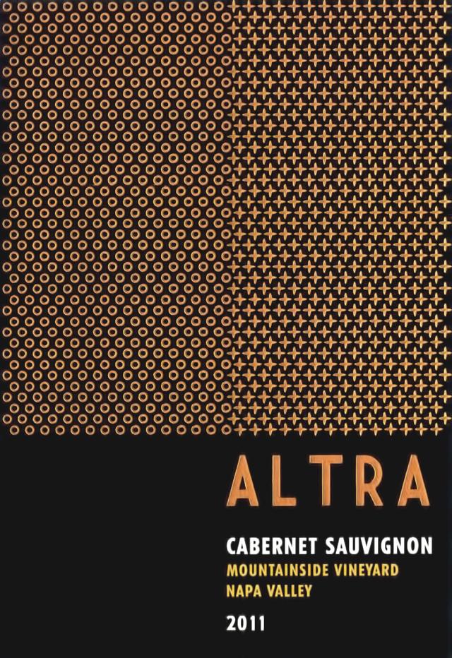 Altra Wines Mountainside Cabernet Sauvignon Bottle Preview