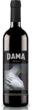 DAMA Wines Lonesome Springs Bottle Preview