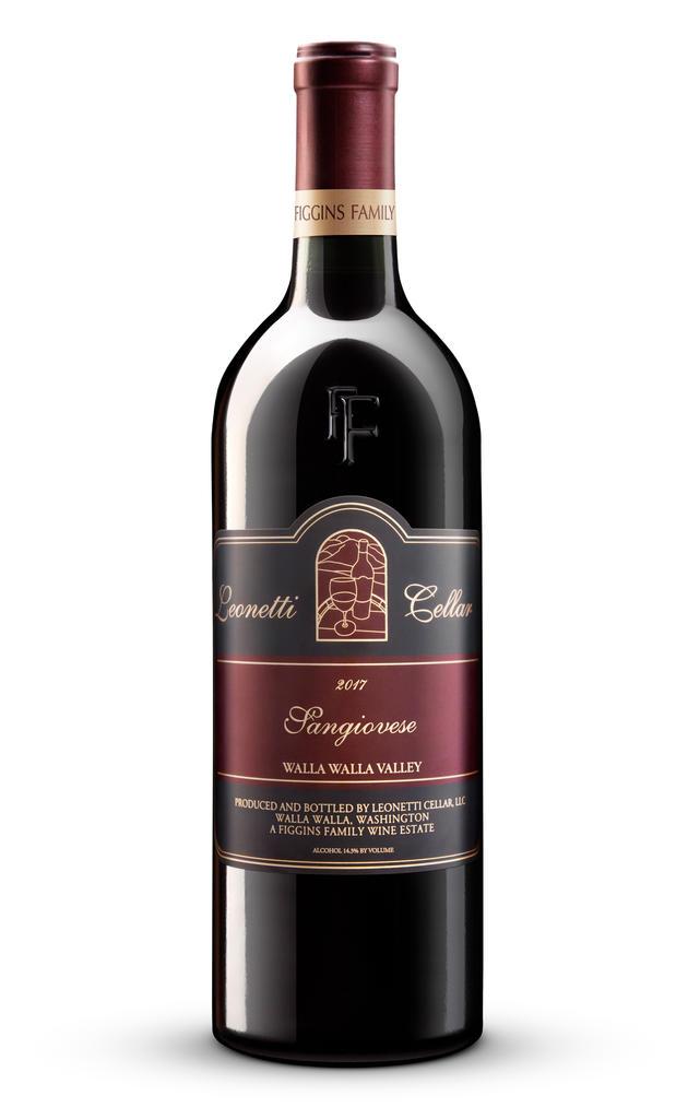 Leonetti Cellar Sangiovese Bottle Preview