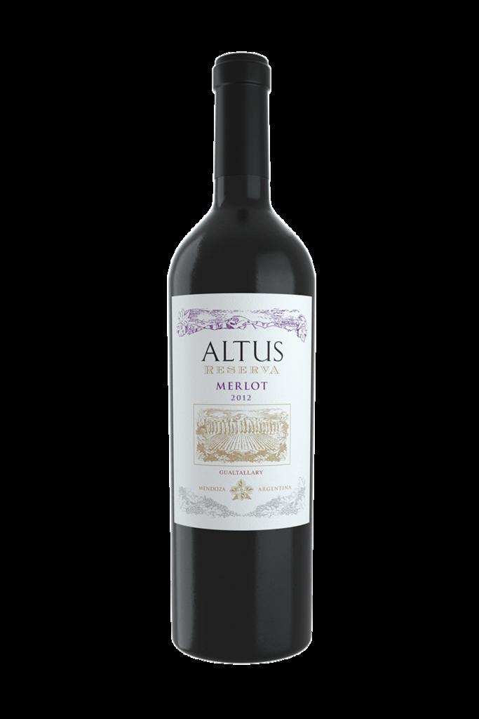 Gualtallary Wines Altus Reserve Merlot Bottle Preview