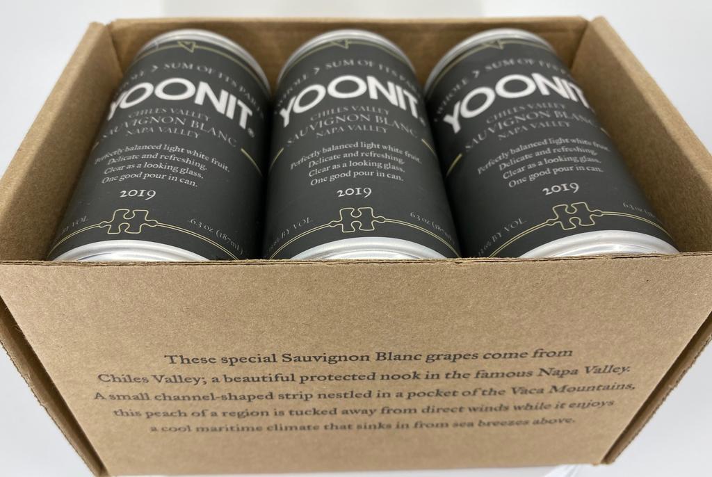 Yoonit Wine Sauvignon Blanc Bottle Preview