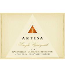 Artesa Winery Foss Valley Cabernet Sauvignon Bottle Preview