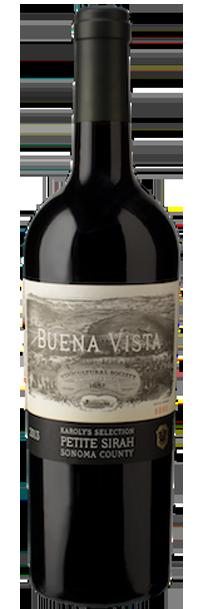 Buena Vista Winery Karoly's Petite Sirah Bottle Preview