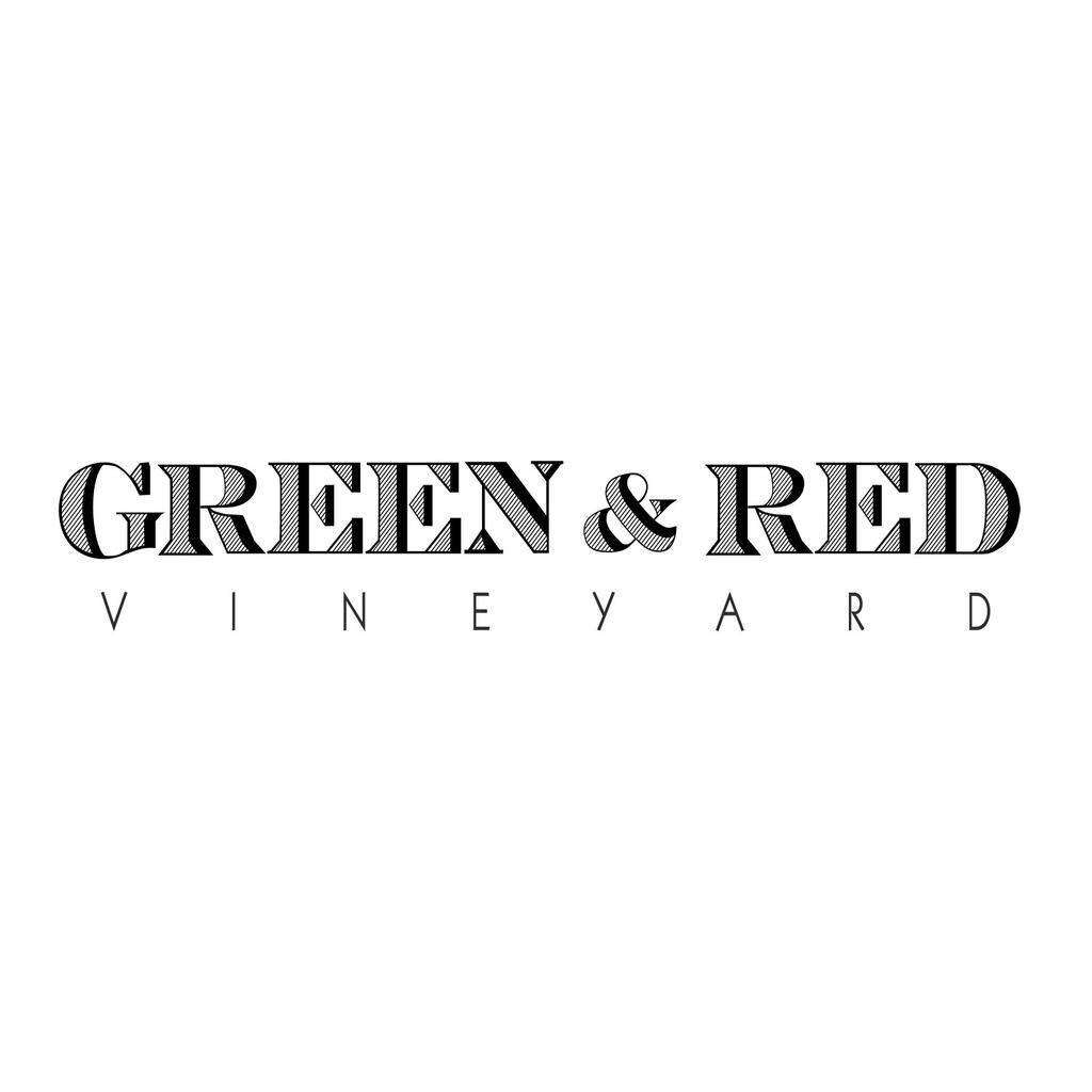 Green & Red Vineyard Logo