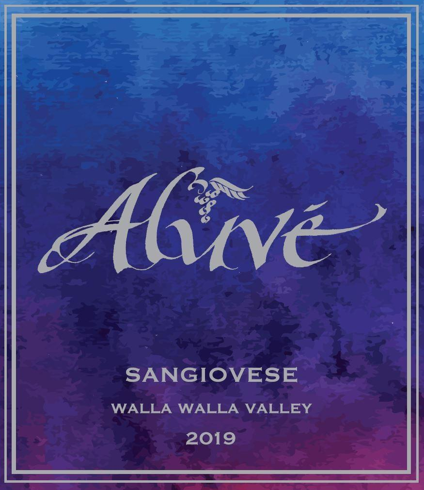 ALUVÉ Sangiovese Bottle Preview
