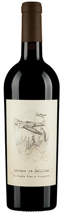 Browne Family Vineyards Spymaster London Is Calling Cabernet Sauvignon Bottle Preview