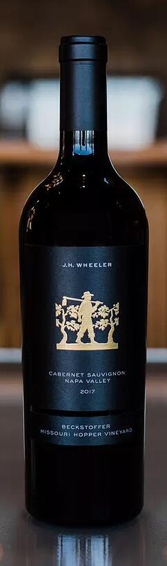 Wheeler Farms J.H. Wheeler Beckstoffer Missouri Hopper Vineyard Cabernet Sauvignon Bottle Preview