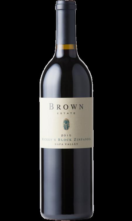 Brown Estate Vineyards Mickey's Block Zin Bottle Preview