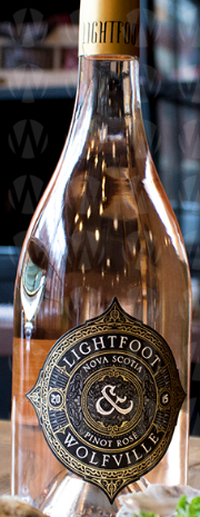 Lightfoot  & Wolfville Vineyards Pinot Rosé