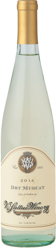 V. Sattui Winery Dry Muscat Bottle Preview