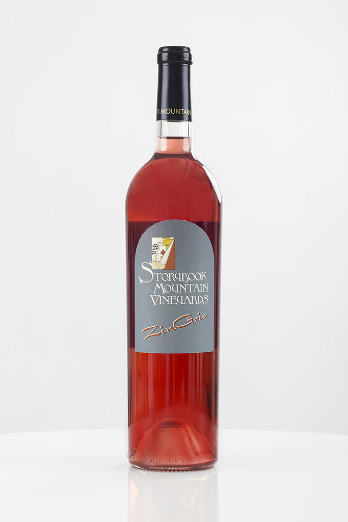 Storybook Mountain Vineyards Zin Gris Bottle Preview